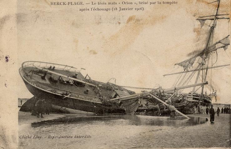 berck-le-trois-mats-orion-brise-par-la-tempete-apres-l-echouage-18-janvier-1906-herve-tavernier-calais.jpg