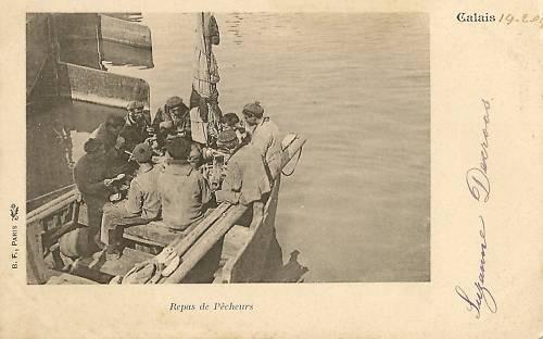 repas de pêcheurs à bord herve tavernier calais