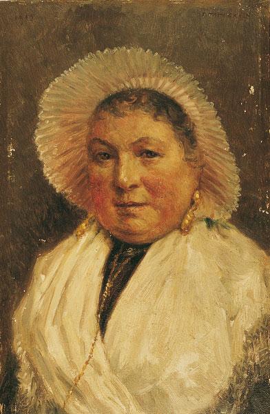Marie la Boulonnaise de F. Tattegrain