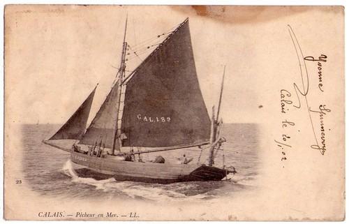 bateau de pêche calais herve tavernier